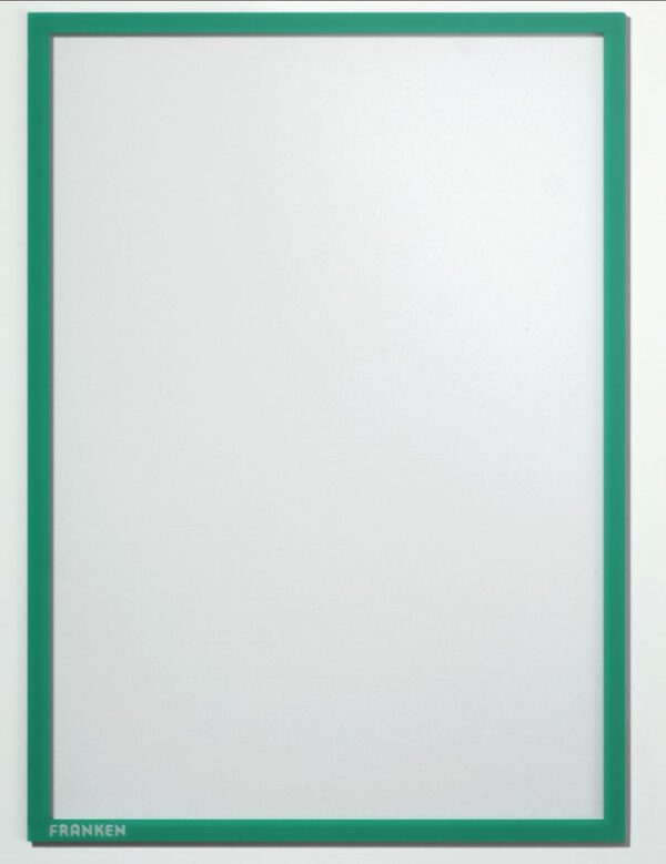 Magnetni ram A3 zelena Franken