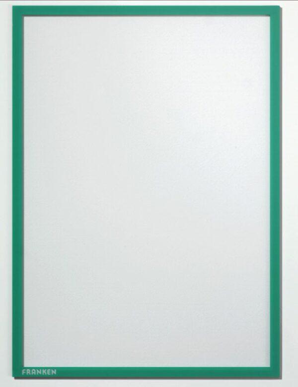 Magnetni ram A4 zelena Franken