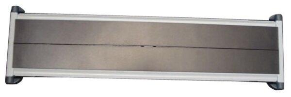 Magnetni stalak zidni čelični prazan za 10 ramova A4 Tarifold