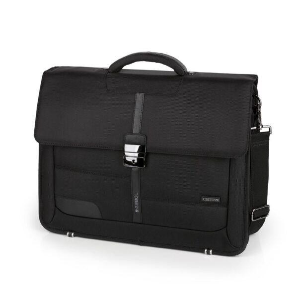 """Poslovna torba 42x32x15 cm  15,6"""" Stark crna Gabol"""