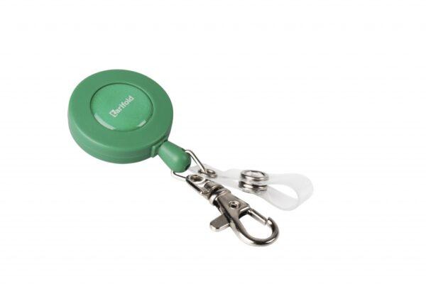 Sajla Yo-Yo za ID kartice 60cm sa kukicom i zatvaračem, 1/10 zelena Tarifold