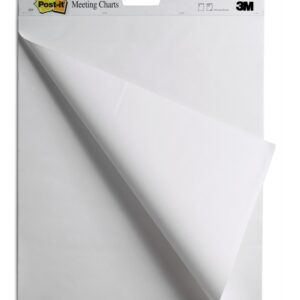 Samolepljivi flipchart blok blanko, 30l, 64x76cm, Post-it 559 3M
