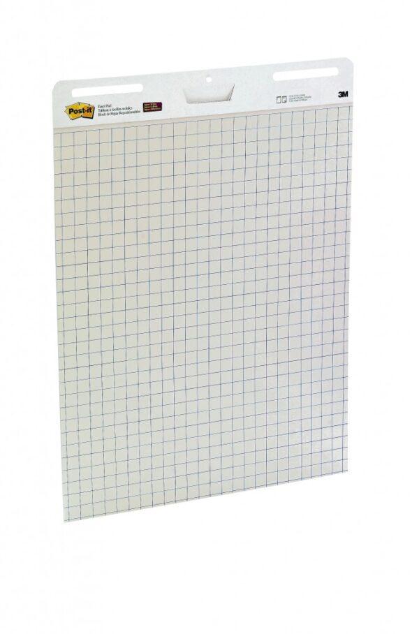 Samolepljivi flipchart blok karirani, 30l, 64x76cm, Post-it 559 3M
