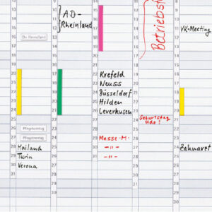 Set magnetnih traka za obeležavanje na planer tablama Franken