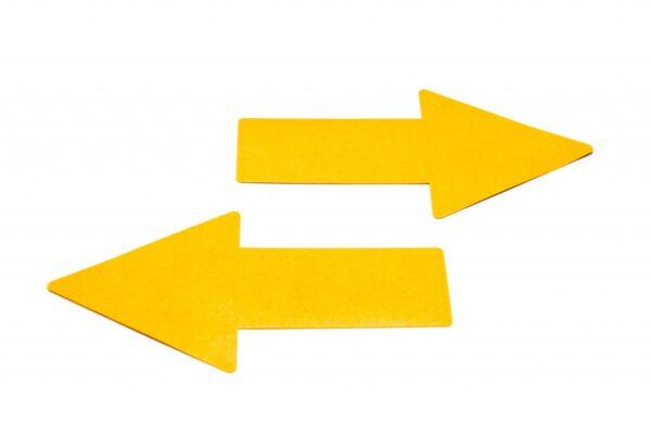 "Simboli za podno obeležavanje ""strelica"" 1/10 žuta Tarifold"
