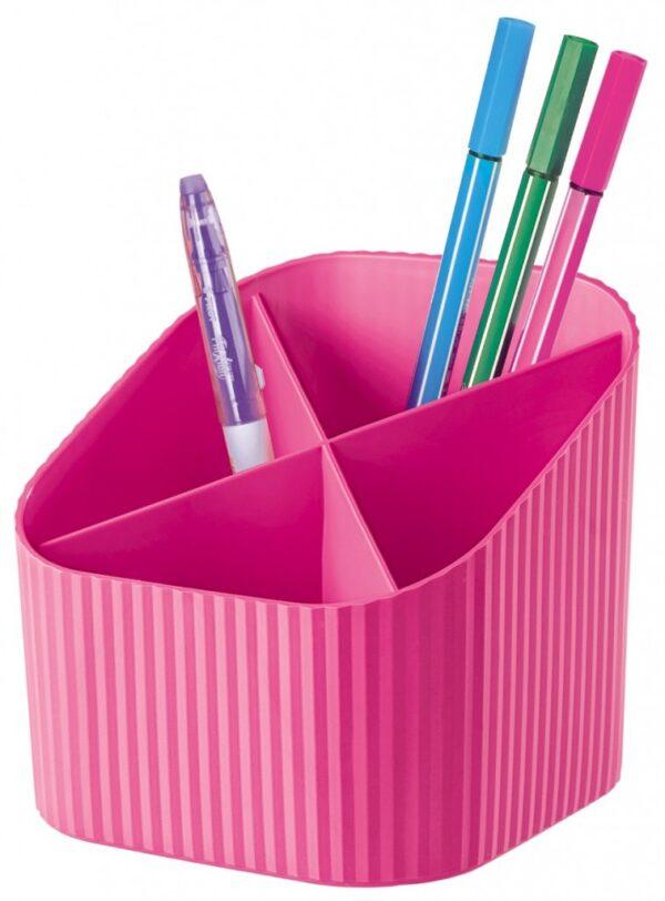 "Stalak za olovke ""X-LOOP"" roze Han"