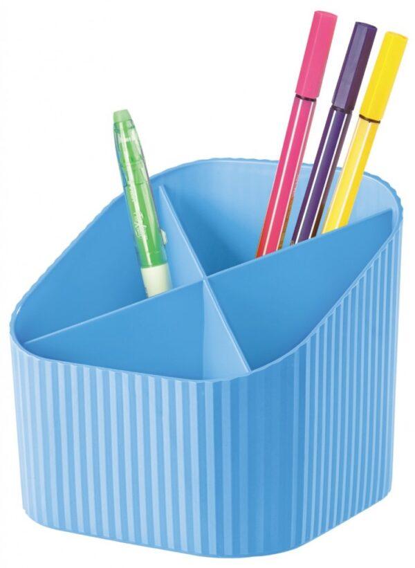 "Stalak za olovke ""X-LOOP"" svetlo plava Han"