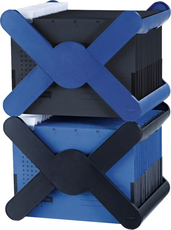Stalak za viseće fascikle X-Cross crna Han