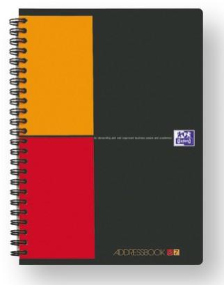 Sveska Oxford International Addressbook A5