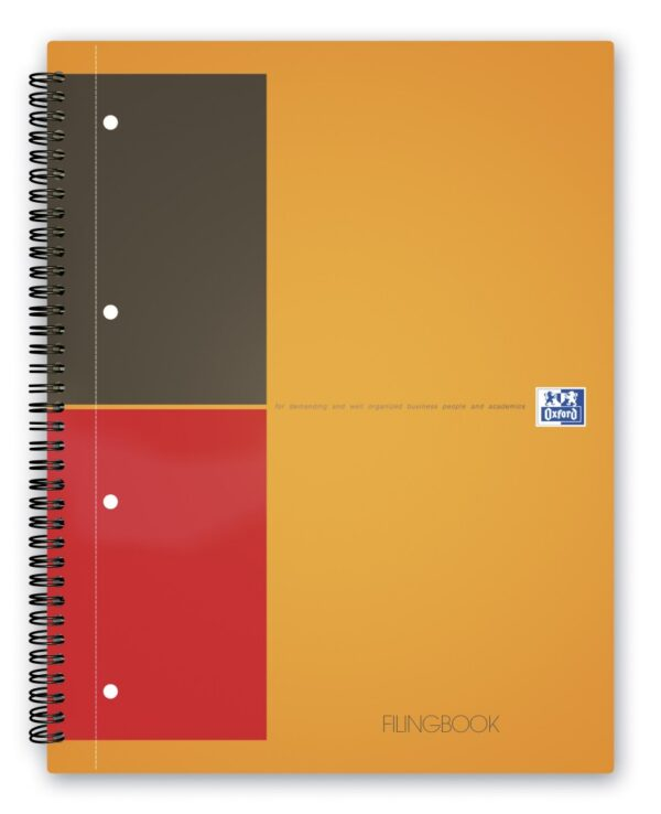 Sveska Oxford International Filingbook A4+ kvadratići