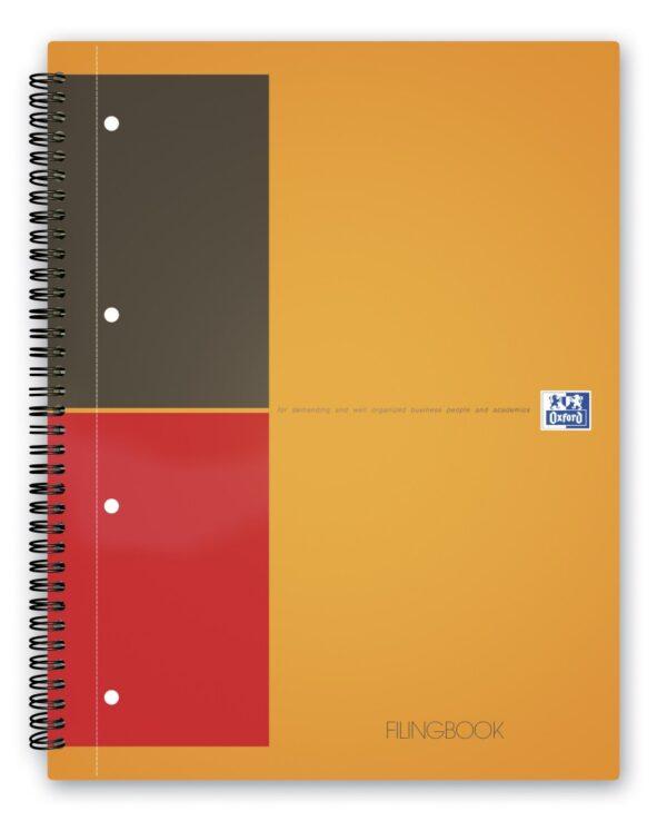 Sveska Oxford International Filingbook A4+ linije