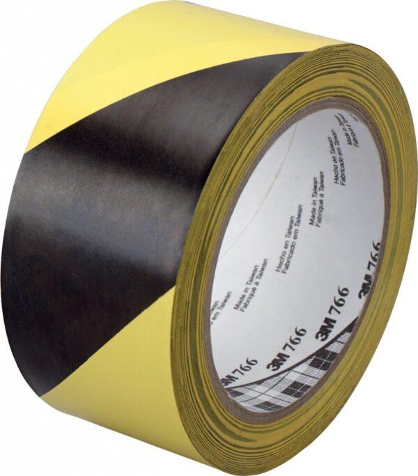 Traka za podno obeležavanje crno-žuta 3M 766L