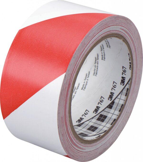 Traka za podno obeležavanje crveno-bela 3M 767L
