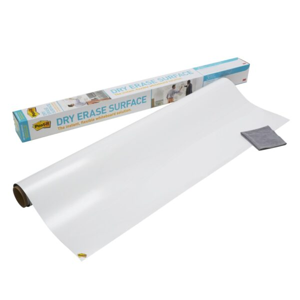 Whiteboard folija za zid Post-it, samolepljiva rolna 1524x121cm 3M