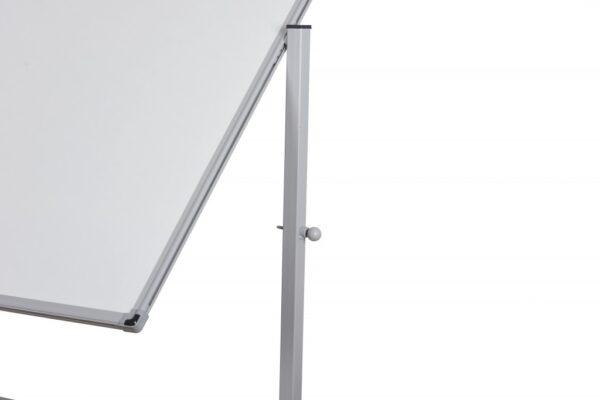Bela magnetna tabla dvostrana 90x120, na stalku sa točkićima Noki
