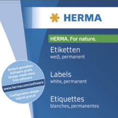 Etikete 105x42 A4/14 1/25 removable Herma