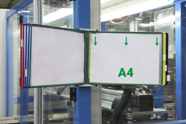 Ramovi horizontalni A4 za stalke Tarifold 1/10 sortirano