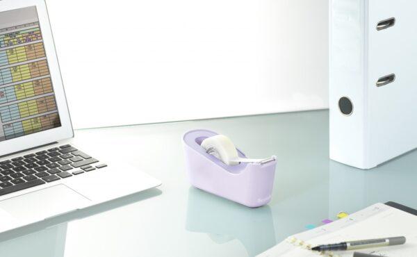 Stalak za lepljivu traku Scotch C18 pastel + 1 x Magic tape ljubičasta