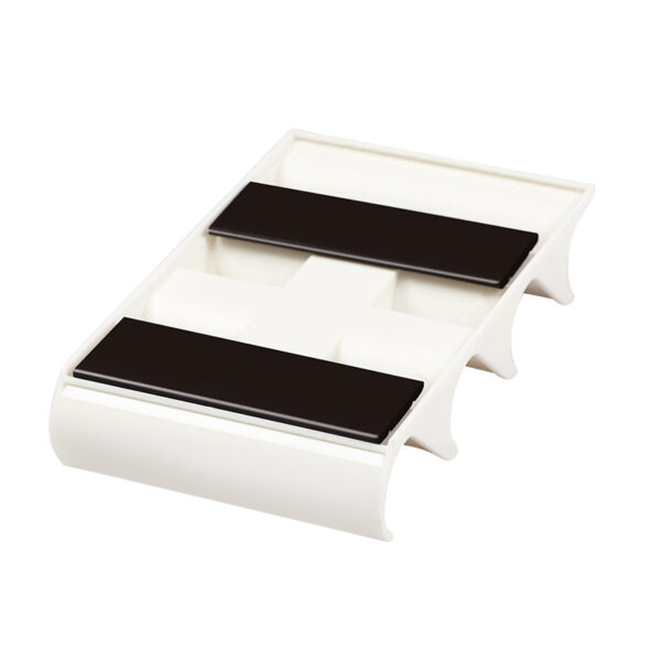 Magnetni držač za 4 markera za belu tablu, horizontalni O+CO