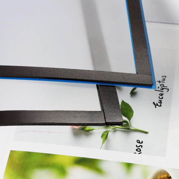 Magnetni ram A4 sa 4 magnetne tračice siva O+CO