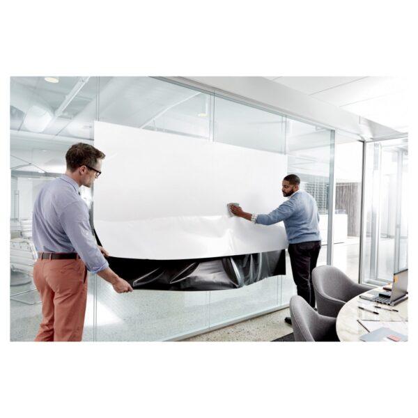 Whiteboard folija za zid Post-it, samolepljiva 61x91cm 3M