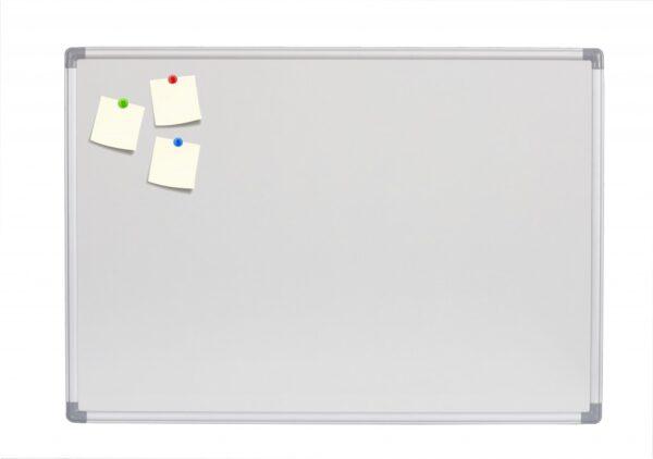 Bela tabla NOKI 120x180cm magnetna, alu ram