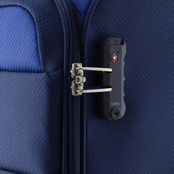 Kofer mali (kabinski) 35x55x20 cm  polyester 31l-2 kg Cloud extra light plava Gabol