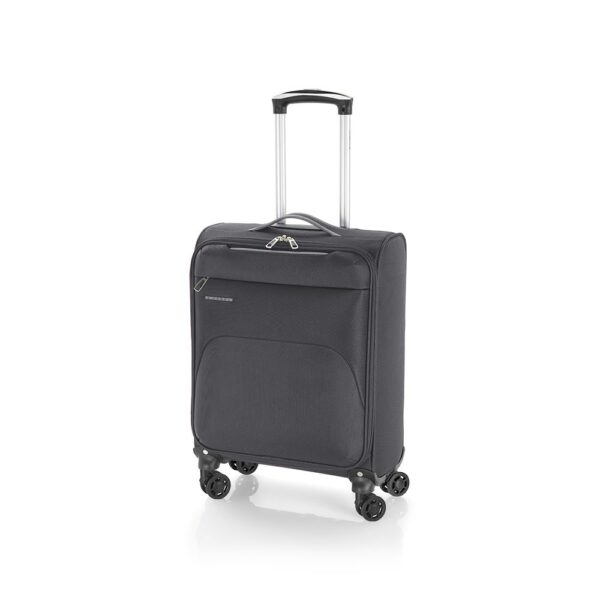 Kofer mali (kabinski) 38x55x20 cm  polyester 31l-2,6 kg Zambia siva Gabol