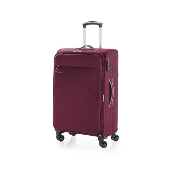 Kofer srednji 41x69x26 cm  polyester 60l-3,2 kg Zambia crvena Gabol