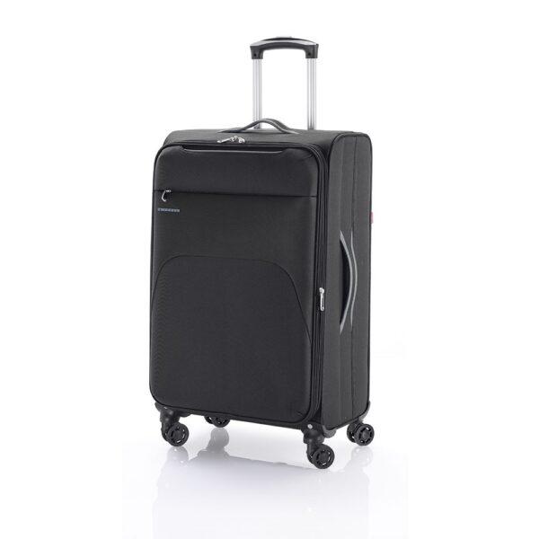 Kofer srednji 41x69x26 cm  polyester 60l-3,2 kg Zambia siva Gabol