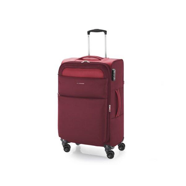 Kofer srednji 42x69x26 cm  polyester 61l-2,7 kg Cloud extra light crvena Gabol