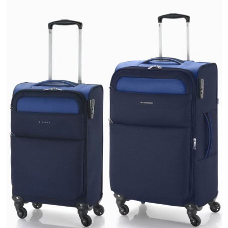 Kofer srednji 42x69x26 cm  polyester 61l-2,7 kg Cloud extra light plava Gabol