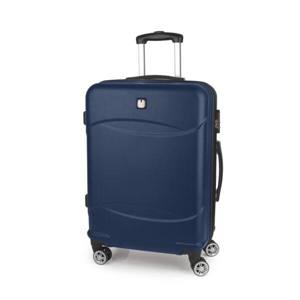 Kofer srednji PROŠIRIVI 48x67x26 cm  ABS 77l-3,6 kg New Orleans plava Gabol