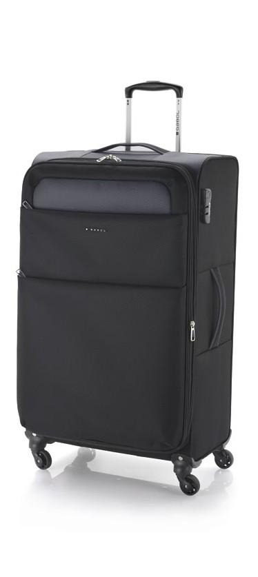 Kofer veliki 47x79x28 cm  polyester 91l-3 kg Cloud extra light crna Gabol