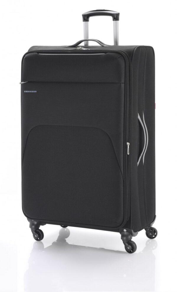 Kofer veliki 47x79x30 cm  polyester 90l-3,9 kg Zambia crna Gabol