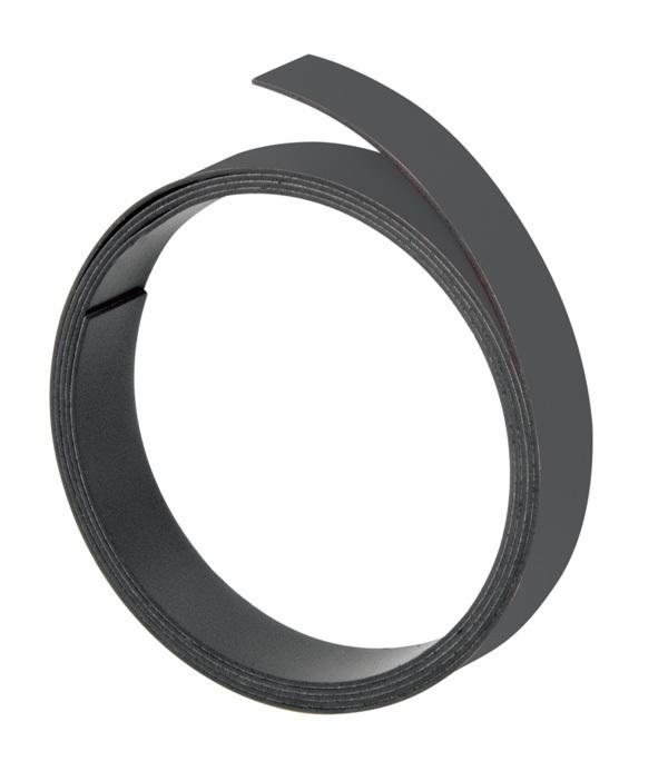 Magnetna traka 10mmx100cm crna Franken
