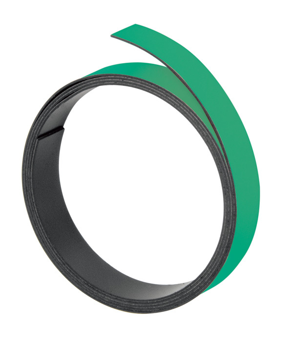 Magnetna traka 10mmx100cm zelena Franken