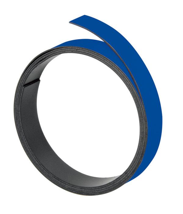 Magnetna traka 5mmx100cm plava Franken