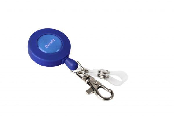Sajla Yo-Yo za ID kartice 60cm sa kukicom i zatvaračem, 1/10 plava Tarifold