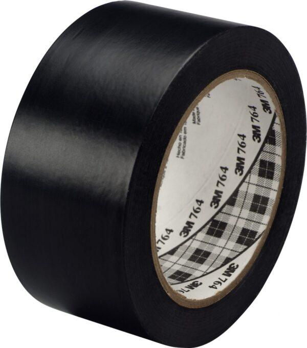Traka za podno obeležavanje u boji 3M 764L crna