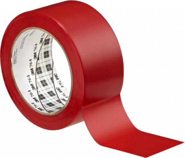 Traka za podno obeležavanje u boji 3M 764L crvena