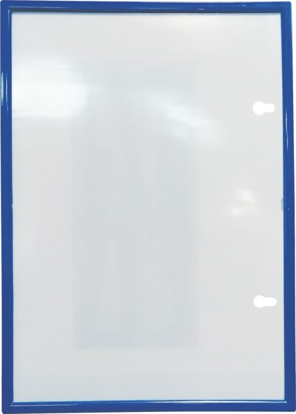 Plastični ram sa magnetnom montažom A4 plava O+CO