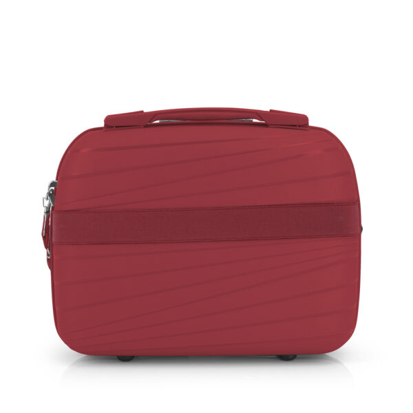 Neseser Polypropilen 34x28x16 cm 13l-1 kg Kiba crvena Gabol