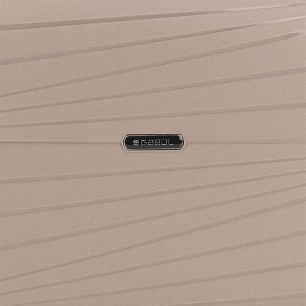 Neseser Polypropilen 34x28x16 cm 13l-1 kg Kiba krem Gabol