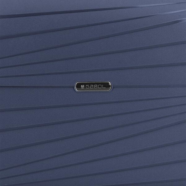 Neseser Polypropilen 34x28x16 cm 13l-1 kg Kiba plava Gabol