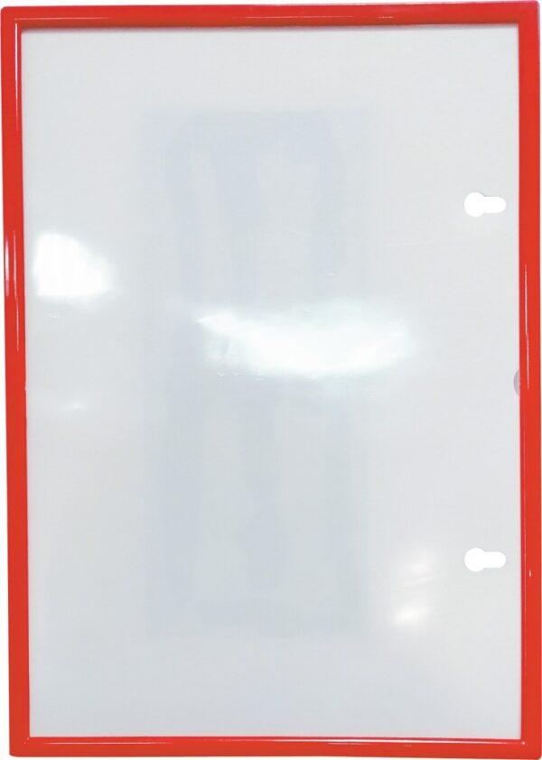 Plastični ram sa magnetnom montažom A4 crvena O+CO