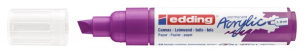 Akrilni marker E-5000 broad 5-10mm kosi vrh borovnica Edding