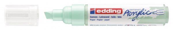 Akrilni marker E-5000 broad 5-10mm kosi vrh mramorno zelena Edding
