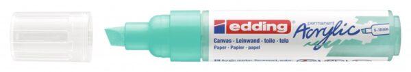 Akrilni marker E-5000 broad 5-10mm kosi vrh tirkiz Edding