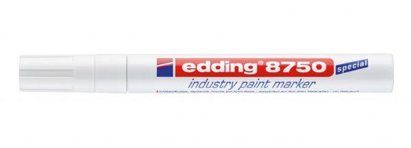 Industrijski paint marker E-8750 2-4mm bela Edding